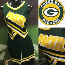 Real Cheerleading Uniform Green Bay Packers Youth L