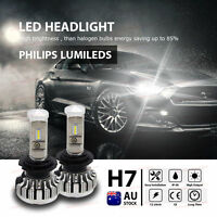 H7 180W CSP 28000LM White LED Headlight Lamp Kit Globes Bulb Canbus High Power