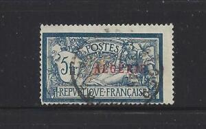 "ALGERIA - 32 - USED -1924 - ""ALGERIE"" O/P ON FRANCE 5 FR STAMP"