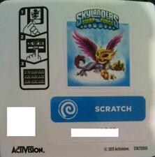 Scratch Skylanders Swap Force Sticker/Code Only!