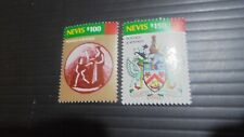NEVIS 2012 SG F9-F10 POSTAGE AND REVENUE MNH