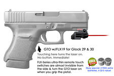 ArmaLaser GTO for Glock 29 & 30 RED Laser Sight w/ FLX19 Grip Touch Activation