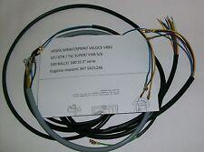 IMPIANTO ELETTRICO ELECTRICAL WIRING VESPA SPRINT/SPRINT VELOCE+SCHEMA ELETTRICO
