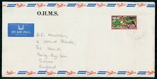 Mayfairstamps Niue OHMS The Strand Harvesting Plantation Cover wwh_21755