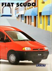 Fiat Scudo Brochure 2000