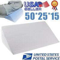 Acid Reflux Foam Bed Wedge Pillow Leg Elevation Back Lumbar Support Cushions USA