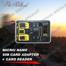 card reader SIM card converter Vimel Mini Nano USB micro SD 128GB 64GB 32GB