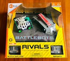 Hexbug - BattleBots Rivals - Bronco & Witch Doctor - Brand New - Very Fun Toy