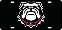 Georgia Bulldog Aluminium License Plate Highest Quality For All Vehicles
