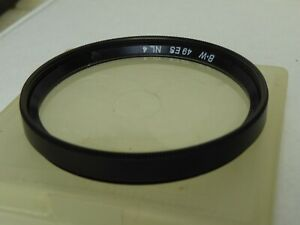 B + W Filter 49mm Filter B+W 49 ES NL4 49es nl 4 lovely condition+ case close up