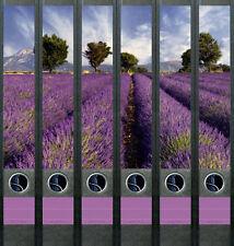 Ordnerrücken Provence Lavendel Ordner Ordneraufkleber Aufkleber Deko 605