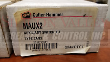 Cutler-Hammer Maux2 Auxiliary Switch Use With Mds Frame Air Circuit Breakers
