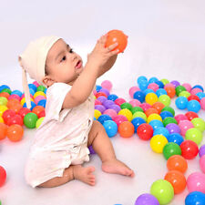 100pcs Colorful Plastic Ball Funny Toys Soft Ocean Balls for The Pool Swim Pit
