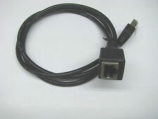 Kenwood Microphone Extension Cable for TM-281A  TM-D710GA TS-480S/AT ~3 Feet Blk