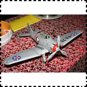 1:33 Scale US Seversky P-35 Fighter Aircraft DIY Card PAPER Model Kit