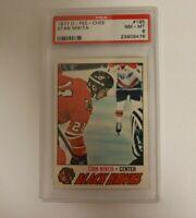 1977 O-Pee-Chee NHL #195 Stan Mikita PSA 8