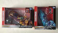 Transformers Takara Legends Titans Return LG25 Blurr and L45 Hot Rod