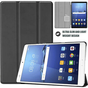 Slim Magnetic Smart Stand Tablet Cover Stand for Huawei Mediapad M3 8.4 Case