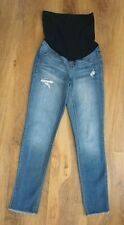 1822 Denim Maternity Straight Leg Blue Jeans Size Small