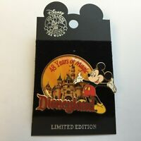 Disneyland 48 Years Of Magic Mickey Mouse - Limited Edition Disney Pin 0