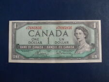 1954 Canada 1 Dollar Bank Note-Bouey/Raminsky-JF7685836--EF+ Cond.  18-608