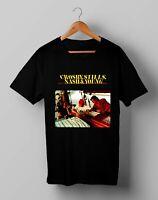 Vintage Crosby Stills Nash San Diego 60's Tee T-Shirt Size S M L XL 2XL