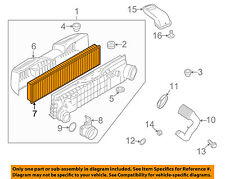PORSCHE OEM 07-09 911 Engine-Air Cleaner Filter Element 99711013174