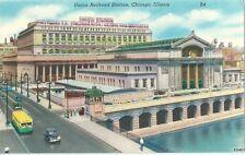 AK Ansichtskarte Union Railroad Station Chicago