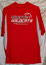 Houston Wildcats Red Polyester Baseball Jersey/Shirt Mens Size Medium