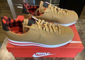 NEW Nike Cortez Basic Premium Size 12 Wheat Rare