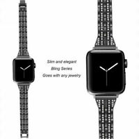 Women Stainless Steel Metal Bracelet For Apple Watch Band 42mm 38mm 44mm 40mm US