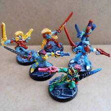 1988 Harlequin Troupers Rogue Trader Pro Painted Eldar Harlequins Warhammer 40K