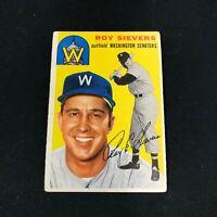 1954 Topps #245 RROY SIEVERS Washington Senators VG ~FB05A