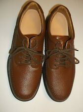 Dr. Comfort~Diabetic Shoes~Removable Insoles~Men 13W~Chestnut Brown Leather~NEW