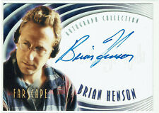 Farscape Season 1 Autograph Card A4 Series Producer Brian Henson