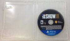 MLB: The Show 18 (Sony PlayStation 4, 2018, Game Only) (3333-US27)