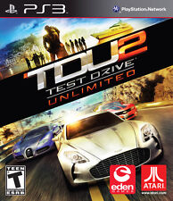 Test Drive Unlimited 2 Sony PlayStation 3 Ps3 Game