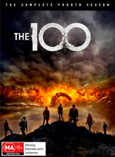 The 100 : Season 4 (DVD, 3-Disc Set) NEW