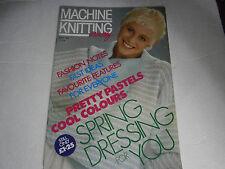 May 1989 Europe Machine Knitting Monthly Pattern Magazine Baby Scarf Hat Mittens