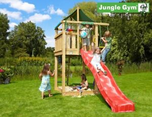 Jungle Gym Lodge Climbing Frame - Build Your Own Plans