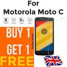 100% genuine Tempered Glass screen protector for Motorola Moto C