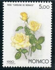 TIMBRE MONACO N° 1714 ** OSAKA 90 / EXPOSITION FLORAL / FLORE / ROSE