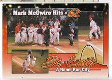 MARK McGWIRE HITS #62,BUSCH STADIUM~ST LOUIS,MO~A HOME RUN CITY