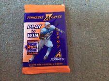 Pinnacle Xpress 1997 nfl wax pack 8 cards