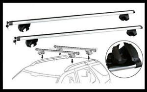 2x NEW CROSS BAR ROOF RACK For Alfa romeo 159 wagon 2006-2020 goes on raise rail