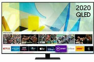 """SAMSUNG QE55Q80TATXXU 55""""INCH QLED 4K HDR SMART TV"""
