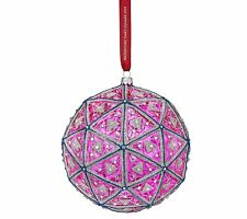 Waterford 2018 Times Square Masterpiece Ball Ornament Limited Ed #40028578