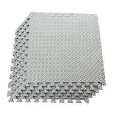 60 cm Grey Interlocking Heavy Duty Foam Mat Eva Mats Floor tiles Garage Flooring