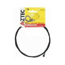 NOS Black Aztec Teflon Duracote Bicycle Tandem Road Brake Inner Cable 2600mm