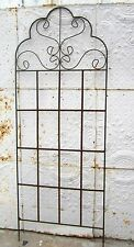 """65"""" Wrought Iron Mable Trellis - Metal Support For Vines & Flowers"""
